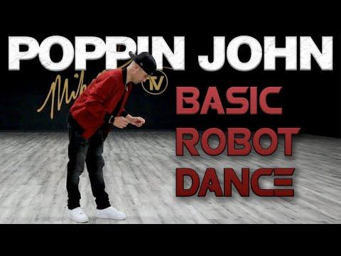Basic Robot Dance (Dance Moves Tutorials) Poppin John | MihranTV(@MIHRANKSTUDIOS)