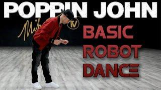 Базовый танец роботов (Учебники по танцевальным движениям) Поппин Джон  MihranTV (@MIHRANKSTUDIOS)