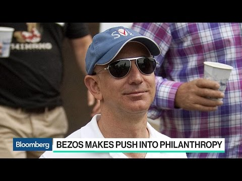 Amazon's Bezos Makes Push Into Philanthropy With Tweet