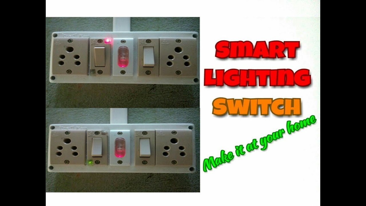 smart electrical light switch