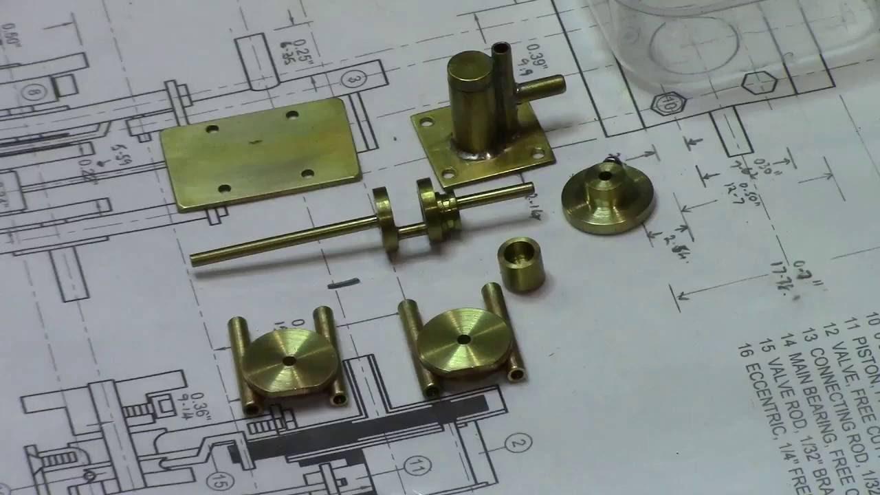 Building a Miniature Steam Engine