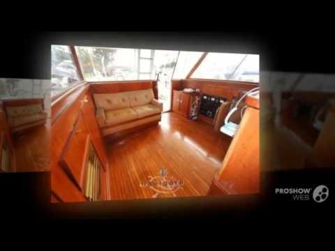 Cantieri di pisa super saturno power boat, motor yacht year - 1966