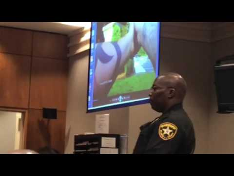 Dr. James Kauffman arrest video