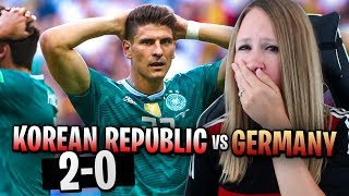 REACTING TO GERMANY VS KOREAN REPUBLIC!