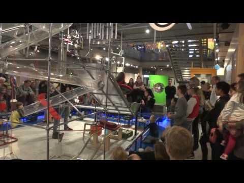 Rube Goldberg Machine - Science Center NEMO: Amsterdam NL