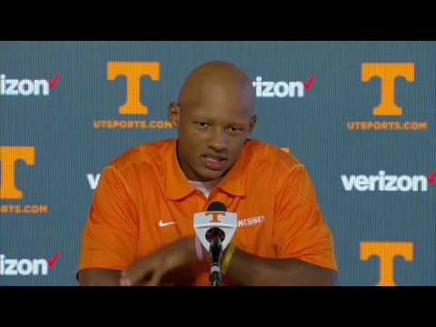 Tennessee Football | Players' Media Session (Oct. 25, 2016)