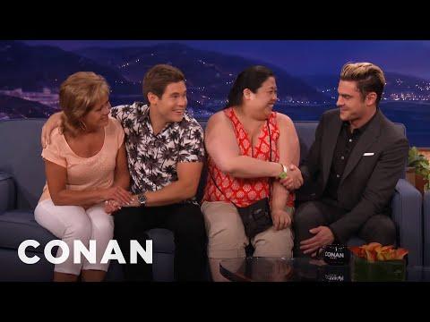 Zac Efron & Adam DeVine Need Dates To Set Up Their Movie Clip  - CONAN on TBS