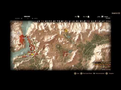 Witcher 3 - How to get the Ursine Set (Scavenger Hunt: Bear School)
