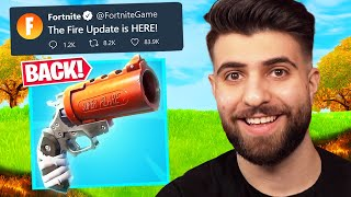 Fortnite Released ANOTHER Surprise Update!