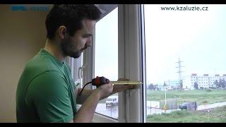 Video návod - Jak zaměřit žaluzie na okna (návod na montáž)