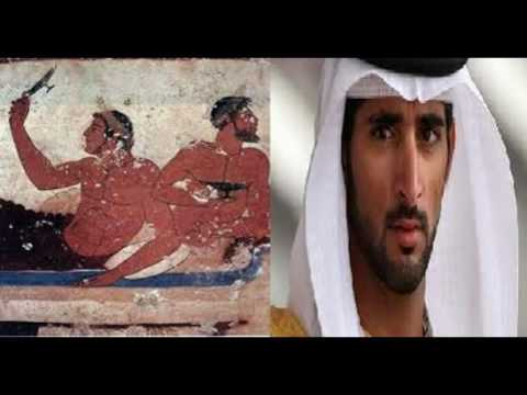 The Etruscans were Semites-Levantine?