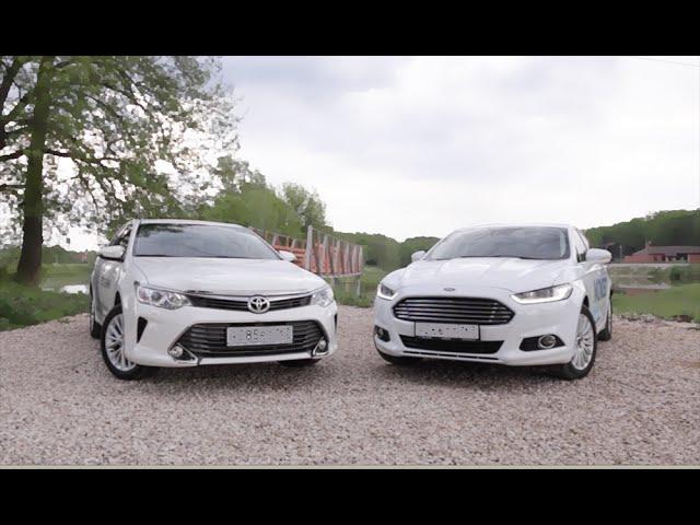 Toyota Camry 2015 против Ford Mondeo 2015 Обзор POV. Игорь Бурцев