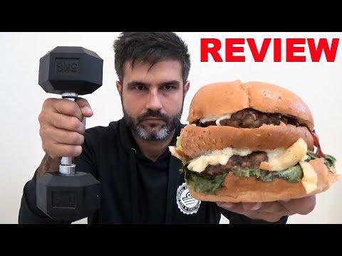 Δοκιμάζοντας 2όροφο Burger Μέσα Στο Γυμναστήριο