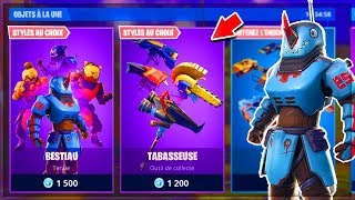 🔴 NEW SKIN in the BOUTIQUE of MARCH 24 on Fortnite!