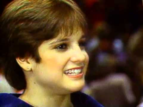 Mary Lou Retton & Julianne McNamara - Interview - 1984 McDonald's American Cup - Women