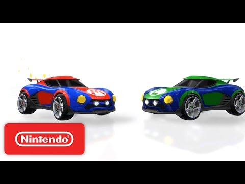 Rocket League: 'Nintendo Battle-Cars' Official Trailer - Nintendo Switch