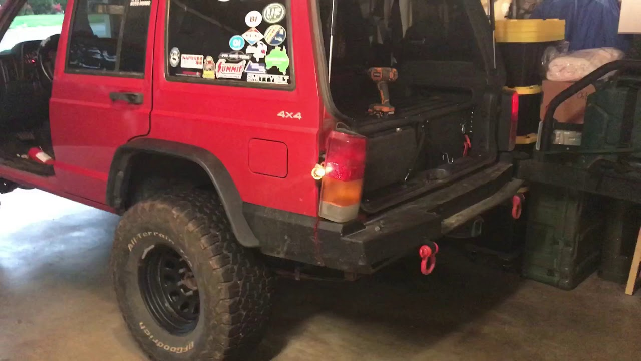 2001 jeep cherokee sport fuse box decal rear tail light and license plate light will not work quick  rear tail light and license plate