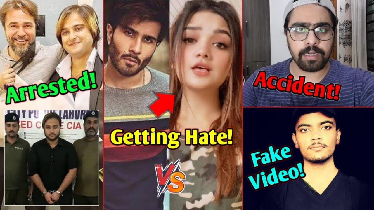 Big TikToker Arrested Why?  Romaisa Khan Vs Feroz Khan   Star Anonymous   Ali Zar   Junaid Akram