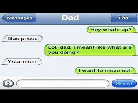 Top 10 Funniest Texts Send By Parents