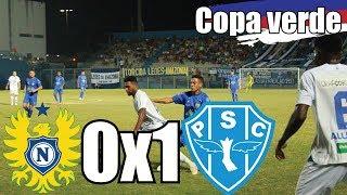 Nacional 0x1 Paysandu (Copa Verde) Melhores momentos