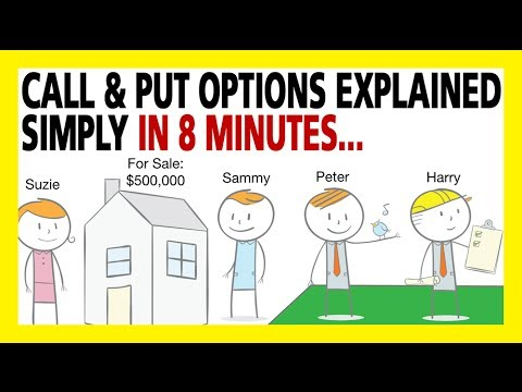 Bill Poulos Presents: Call Options & Put Options Explained In 8 Minutes (Options For Beginners)