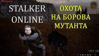 охота на борова мутанта в Stalker Online. 2К