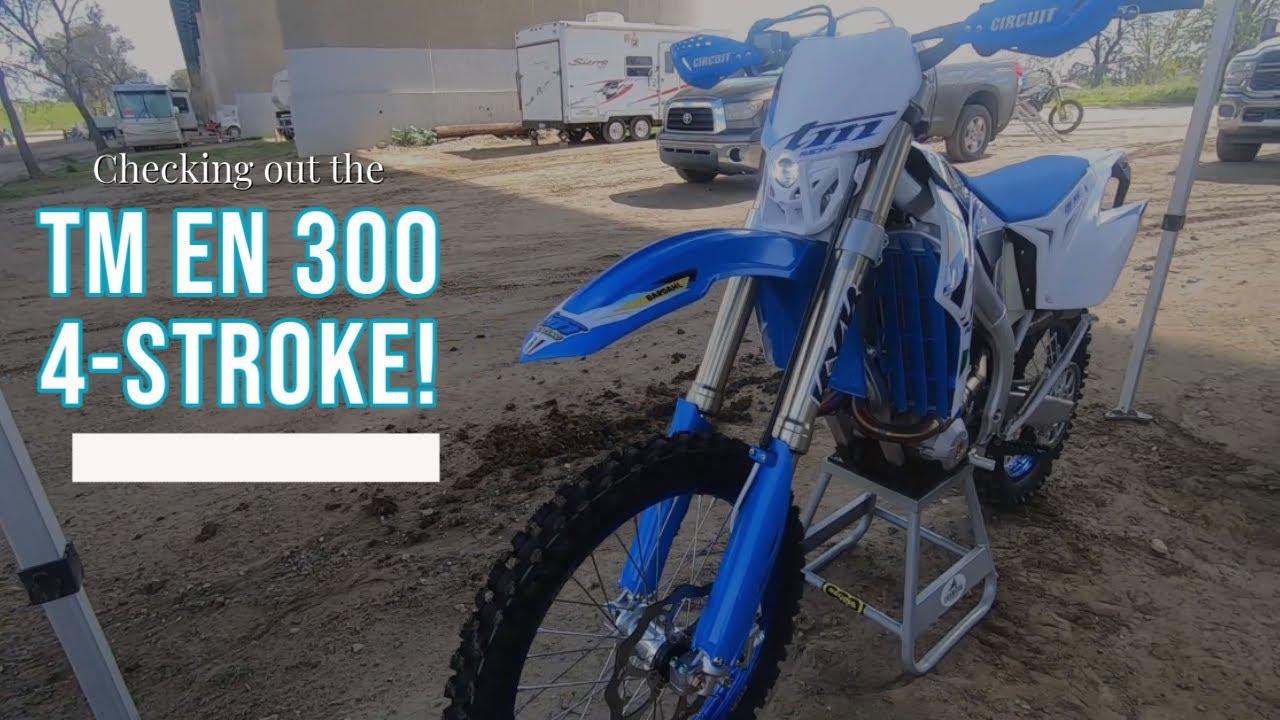 Checking out the TM EN 300 4-Stroke!