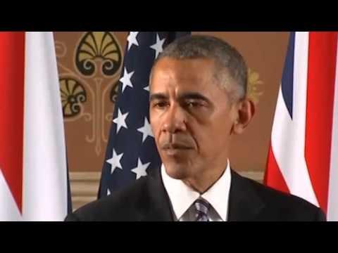 Press Conference - President Obama and UK Prime Minister Cameron