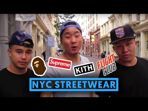 NEW YORK STREETWEAR PICK-UPS