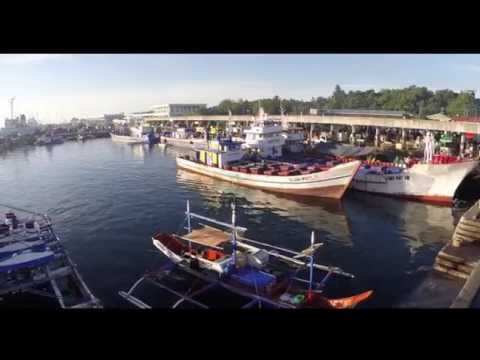 General Santos City Fish Port - Tuna Capital of the World - Aerial Views