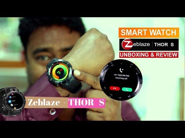 Zeblaze THOR S - Smartwatch - 3G SIM |  CAMERA | WIFI  | 16 GB | GPS  | HEALTH & FITNESS