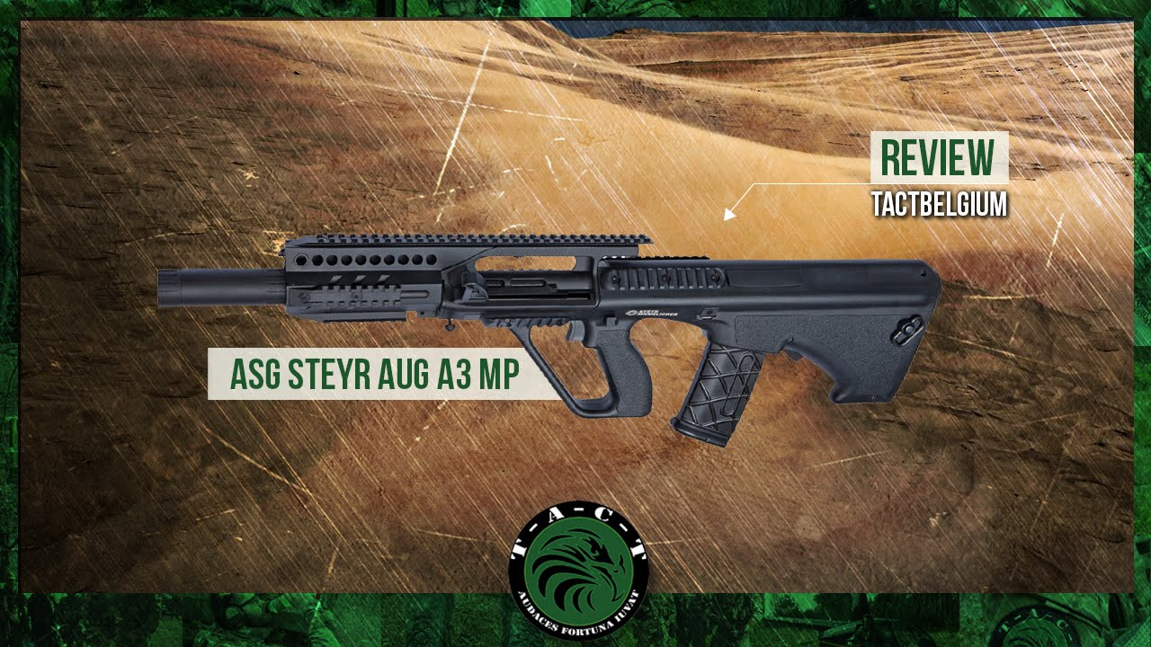 Review asg steyr aug a3 mp youtube voltagebd Gallery
