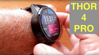 "ZEBLAZE THOR 4 PRO 4G Android 7.1.1 LARGE 1.6"" LTPS Screen Smartwatch: Unboxing and 1st Look"