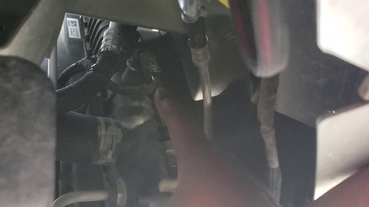 2013 Chevy Malibu Coolant Temperature Sensor Location