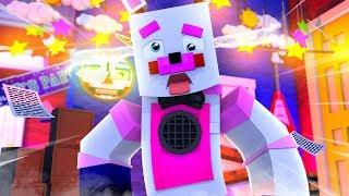 Funtime Freddy Goes Crazy    Minecraft FNAF Roleplay