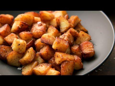 Sauteed Potatoes.  The best pan fried potatoes