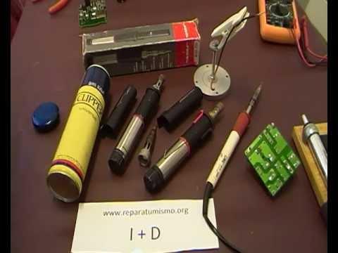 Soldador de gas jbc usado en electronica para que usarlo y - Soldador de gas ...