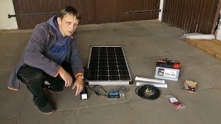 Die Solaranlage Fur Das Gartenhaus Ist Da Alle Komponenten Ausgepackt Und Angeschaut Youtube