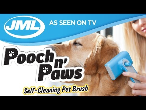 Pooch n' Paws Pet Brush from JML