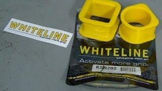 Whiteline HD Steering Rack Bushings for 2002-2004 Subaru WRX /& 2004 STi  KSR202