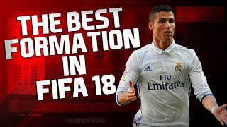 THE BEST FORMATION FOR FIFA 18 FUT CHAMPIONS - FIFA 18 ULTIMATE TEAM