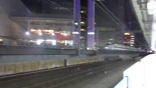 東海道新幹線N700系「のぞみ58号」 有楽町駅通過