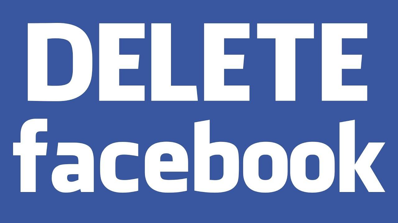 Resultado de imagen para Delete Facebook