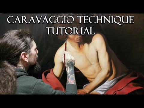 Caravaggio Technique Tutorial - St. John the Baptist