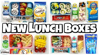 Mac & Cheese Quesadilla😱!?! Trying NEW LUNCH BOXES 🍎 Letting YOU CHOOSE our lunch