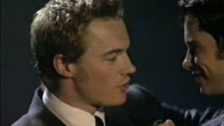 Boyzone - Stephen Gately co-presenting the Smash Hits Poll Winners Party 1998 part 1