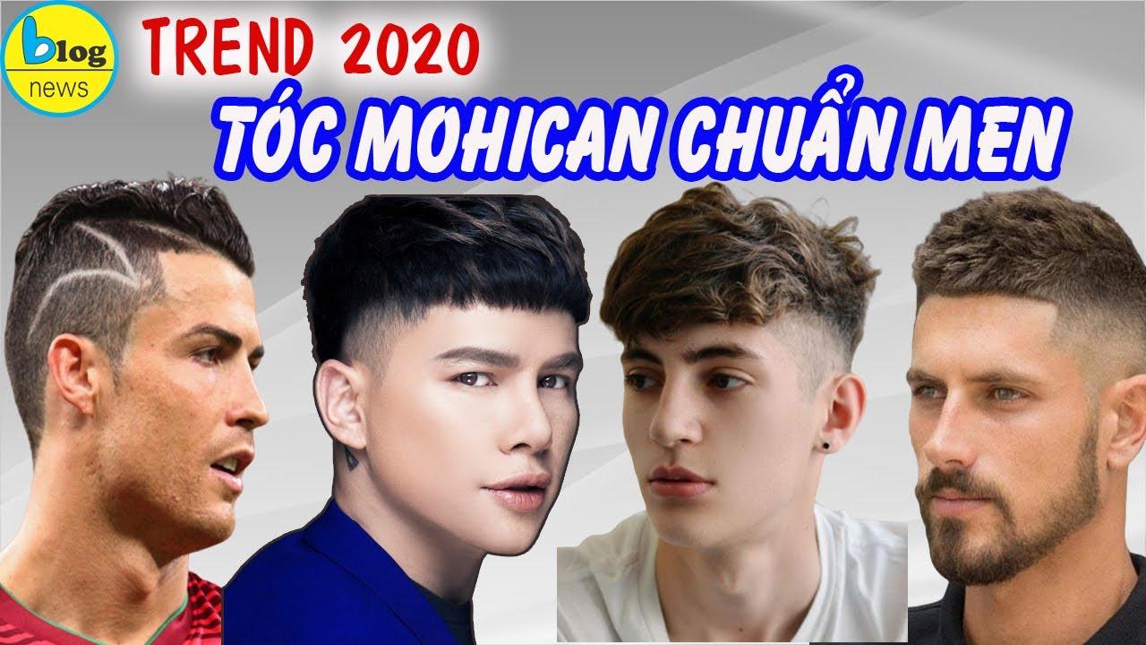 10 KIỂU TÓC MOHICAN đẹp nhất cho nam giới trong năm 2020
