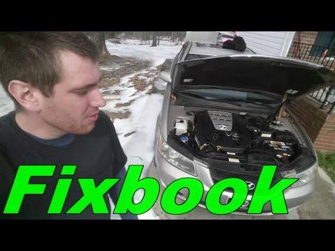 "Alternator 04-09 Hyundai Sonata Remove Replace Install ""How to"""