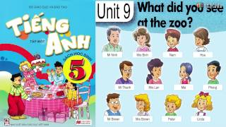 Tiếng Anh Lớp 5: UNIT 9 WHAT DID YOU SEE AT THE ZOO - FullHD 1080P