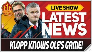 Klopp Mocks Solskjaer! Man Utd News Now